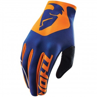Guantes motocross Thor Void Bend Navy