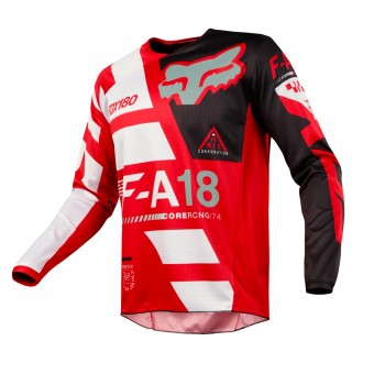 Camiseta Motocross FOX 180 Sayak Red 003