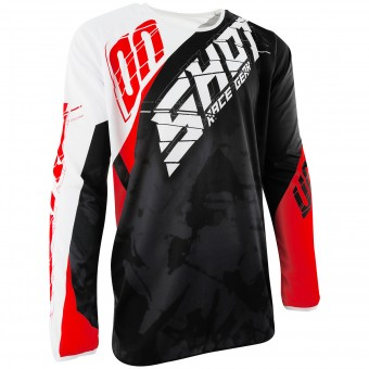 Camiseta Motocross SHOT Devo Squad Red