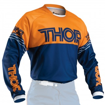 Camiseta Motocross Thor Phase Hyperion Navy Orange