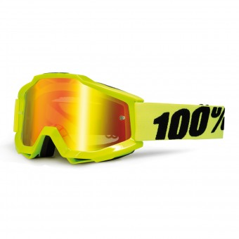 Gafas motocross 100% Accuri Fluo Yellow
