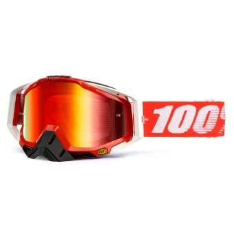 Gafas motocross 100% Racecraft Fire Red