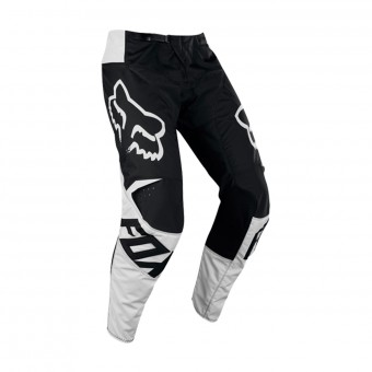 Pantalón motocross FOX 180 Race Black White Pant 001
