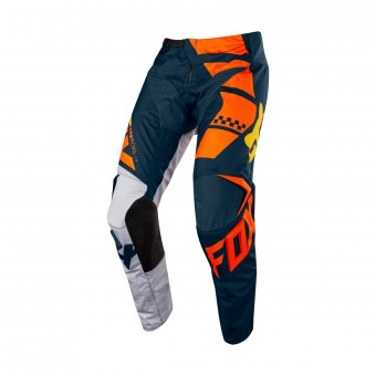 Pantalón motocross FOX 180 Sayak Orange Pant 008