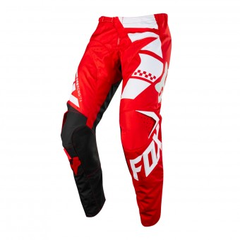 Pantalón motocross FOX 180 Sayak Red Pant 003