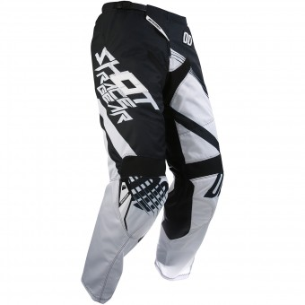 Pantalón motocross SHOT Contact Claw Black Pant