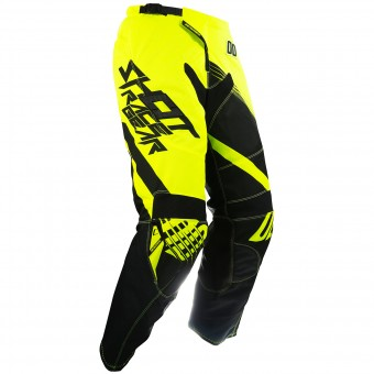 Pantalón motocross SHOT Contact Claw Neon Yellow Pant