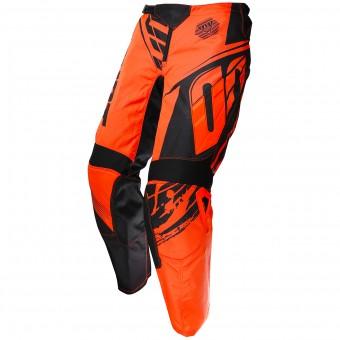 Pantalón motocross SHOT Devo Fast Neon Orange Pant Niño