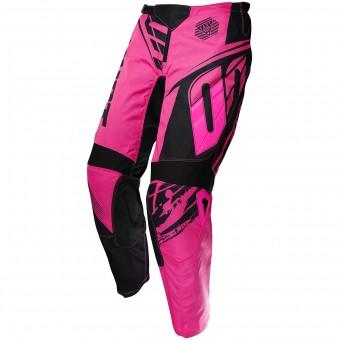 Pantalón motocross SHOT Devo Fast Neon Pink Pant Niño