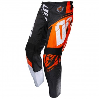 Pantalón motocross SHOT Devo Fast Orange Pant Niño