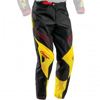 Pantalón motocross Thor Phase Hyperion Yellow Pant Niño