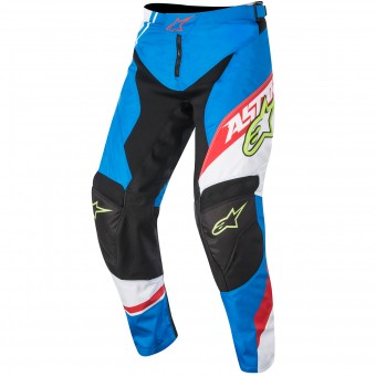 Pantalón motocross Alpinestars Racer Supermatic Blue Red Niño