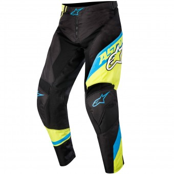 Pantalón motocross Alpinestars Racer Supermatic Blue Yellow Pant Niño