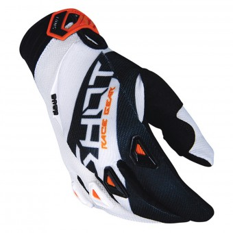 Guantes motocross SHOT Devo Alert Orange