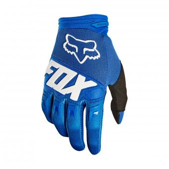 Guantes motocross FOX Dirtpaw Race Blue White 002