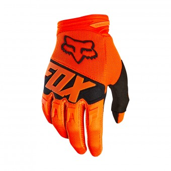 Guantes motocross FOX Dirtpaw Race Orange Black 009