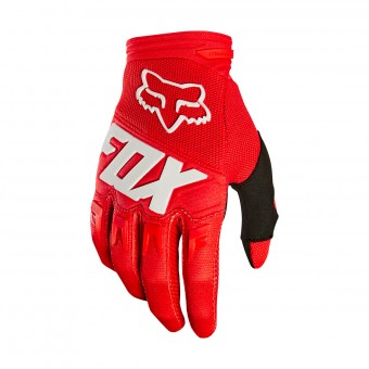 Guantes motocross FOX Dirtpaw Race Red White 003
