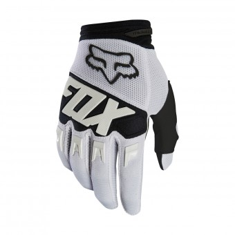 Guantes motocross FOX Dirtpaw Race White Black 008