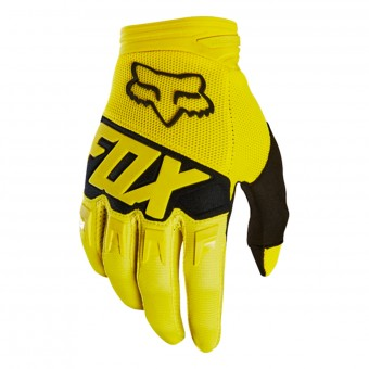 Guantes motocross FOX Dirtpaw Race Yellow Black 005
