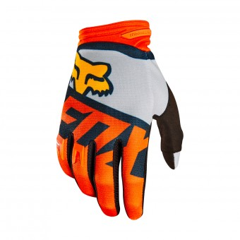 Guantes motocross FOX Dirtpaw Sayak Orange 009