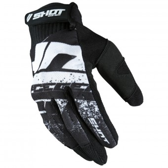 Guantes motocross SHOT Drift Black CE