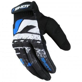 Guantes motocross SHOT Drift Blue CE