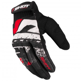 Guantes motocross SHOT Drift Red CE
