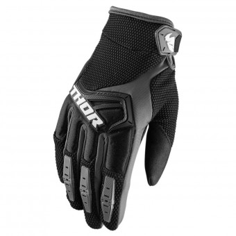 Guantes motocross Thor Spectrum Black Grey