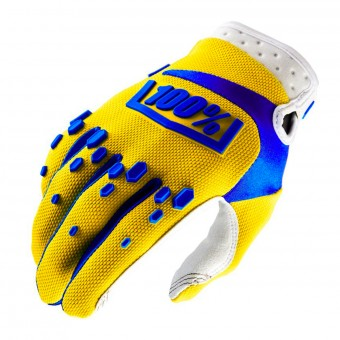 Guantes motocross 100% Airmatic Yellow