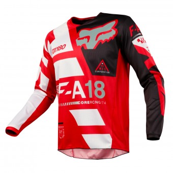 Camiseta Motocross FOX 180 Sayak Red Niño 003
