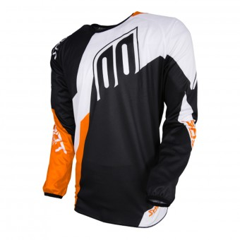 Camiseta Motocross SHOT Devo Alert Black Orange