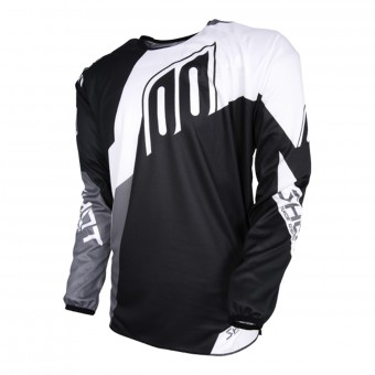 Camiseta Motocross SHOT Devo Alert Black White