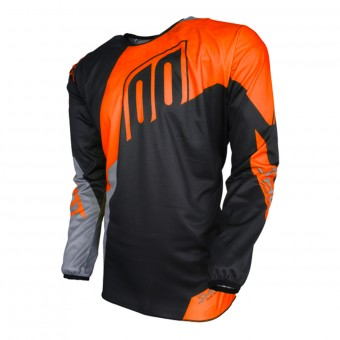Camiseta Motocross SHOT Devo Alert Neon Orange