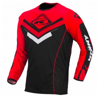 Camiseta Motocross Kenny Camiseta Titanium Black Red