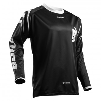 Camiseta Motocross Thor Sector Zones Black