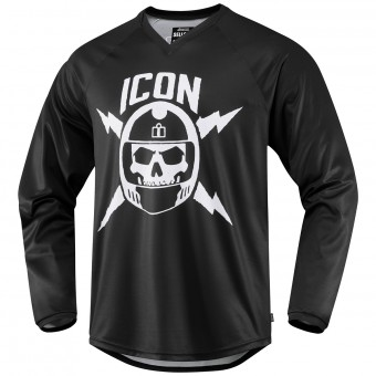 Camiseta Motocross ICON Sellout Black