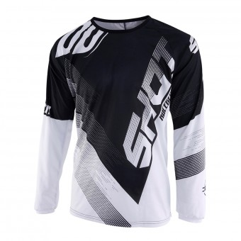 Camiseta Motocross SHOT Devo Ultimate Negro Blanco