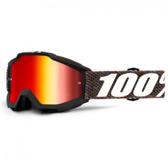 Gafas motocross 100% Accuri Krick Mirror Red Lens Niño