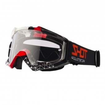 Gafas motocross SHOT Assault Beyound Black Red