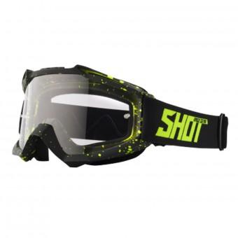 Gafas motocross SHOT Assault Drop Neon Yellow Matt