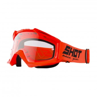 Gafas motocross SHOT Assault Neon Orange