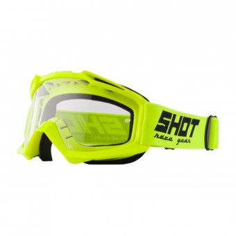 Gafas motocross SHOT Assault Neon Yellow
