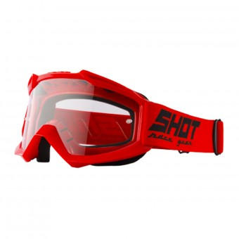 Gafas motocross SHOT Assault Red