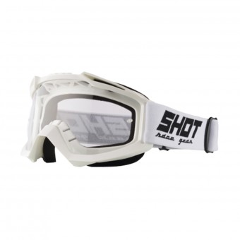 Gafas motocross SHOT Assault White