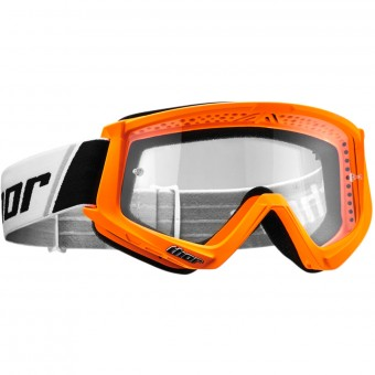 Gafas motocross Thor Combat Orange Fluo Black