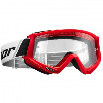 Gafas motocross Thor Combat Red Black