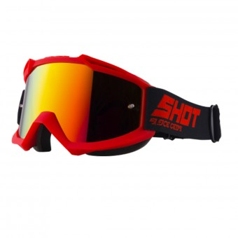 Gafas motocross SHOT Iris Red Iridium Red