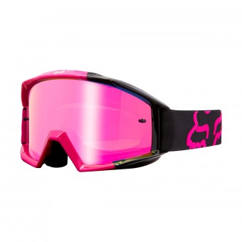 Gafas motocross FOX Main Master Black Pink 001