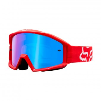Gafas motocross FOX Main Race Red Iridium Blue