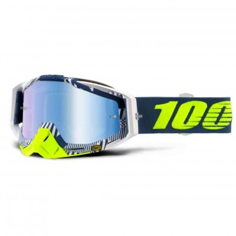 Gafas motocross 100% Racecraft Eclipse Mirror Blue